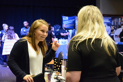 The Center for Personal & Professional development hosted a Health Care Career Fair on April 11, 2019.