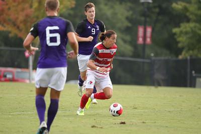 Gardner-Webb University Men's Soccer takes on Young Harris in a preseason matchup at Greene-Harrison Stadium.