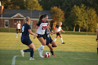 Gardner-Webb University Women's Soccer takes on Georgia Southern in their home opener at Greene-Harbison Stadium.