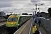 4004 flies past Portlaoise with the 1425 Cork - Heuston. Thurs 22.08.19
