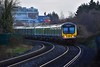 29011+ 29005 approach Navan Road Parkway with the 1317 Connolly - Maynooth. Sat 14.12.19