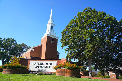 Gardner-Webb Campus Shots