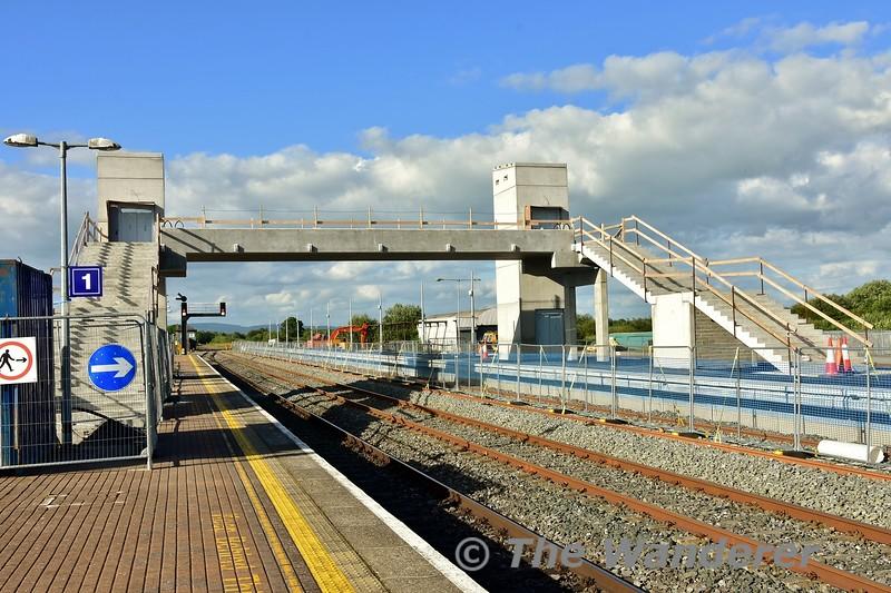 The new footbridge at Limerick Jct. Mon 01.07.19