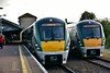 22006 and 22060 at Limerick Jct. 22006 was the 1833 to Limerick, while 22006 would shunt to the platform 22006 is on once it has departed to form the 1840 to Waterford. Mon 01.07.19