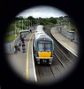 "Viewed through the footbridge we see 22042 leaving Portarlington with the 1505 Galway - Heuston. The train would be delayed for 60 minutes at Kildare as the emergency services dealt with an medical emergency onboard after a lady went into labour. We hope the mother and newborn baby girl are doing well. Tues 11.06.19 <br><br> <a href=""https://www.independent.ie/irish-news/news/its-a-girl-woman-gives-birth-on-packed-commuter-train-from-galway-to-dublin-this-evening-38210337.html/"" target=""_blank"">Click here </a> for the full story in the Irish Independent."