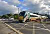 22018 departs from Farranfore and crosses level crossing XT131 with the 1725 Mallow - Tralee. Fri 14.06.19