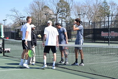 Gardner-Webb Men's Tennis Match