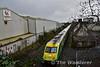 4003 flies past Kilmallock Station with the 1335 Charleville - Heuston. Sat 02.03.19