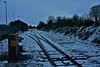 Snow covered tracks at Nenagh. Mon 04.03.19