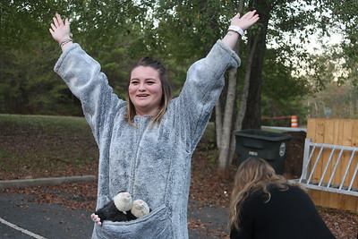 Enchanted Forest is an event that the GWU Honors Student Association volunteers to put on with the help of the Broad River Greenway! This year's event was very successful and everyone had a lot of fun!