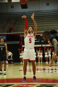 Gardner-Webb University Men's Basketball takes on Furman in their home opener at Paul Porter Arena.