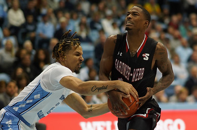 Gardner-Webb Men's Basketball traveled to Chapel Hill to face UNC on November 15th, 2019.