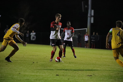 Gardner-Webb University Men's Soccer takes on Winthrop University for their senior night and last regular season matchup at Greene-Harbison Stadium.