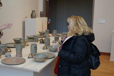 Leah Jancic's senior art show opening exhibit
