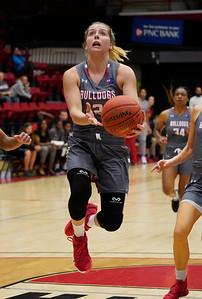 Gardner-Webb's Women's Basketball team takes on Chowan in their home opener on November 7, 2019 in Paul Porter Arena.