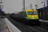 On a dull November day 4001 passes Portlaoise with the 1425 Cork - Heuston. Wed 07.11.19