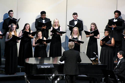Gardner-Webb University Music Department Choir Concert