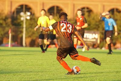 Men's Soccer Reserves take on Emmanuel College.