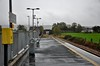 "Sixmilebridge Station is a basic station located at the 13 milepost on the Limerick - Sligo ""Western Rail Corridor"". The station contains a single 90 metre platform capable of holding 3ICR or 4 2600/2700/2800/29000 Classes. This view is looking towards Limerick. Mon 14.10.19"