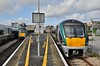 In Galway wee see 22004 with the 1345 to Limerick Jct. and 22002 (22001) with the 1305 to Heuston. Fri 11.10.19