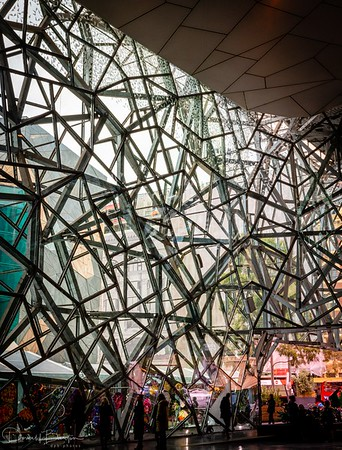 Federation Square - the Atrium