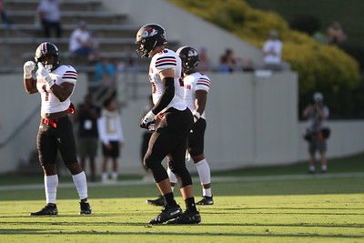 Gardner-Webb football team gives their all against Wofford College at Gibbs Stadium in Spartanburg, South Carolina.