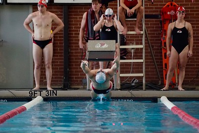 GWU Swiming Scrimmage
