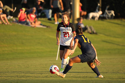 Gardner-Webb University Women's Soccer takes on ETSU in an early non-conference game at Greene-Harbison Stadium.