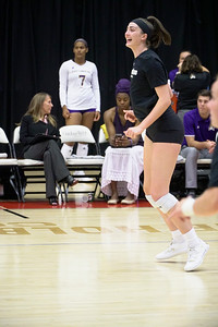GWU vs ECU Volleyball