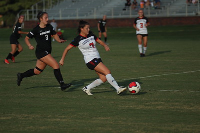 Women's Soccer reserves play on Thursday night against Concord