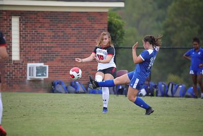 Gardner-Webb University Women's Soccer takes on Hampton University in a mid season matchup at Greene-Harbison Stadium.