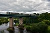 22042 crosses the Mallow Viaduct with the 1137 Mallow - Tralee. Sat 07.09.19