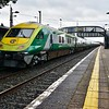 4002 at Thurles on the rear of the 0700 Cork - Heuston. Fri 06.09.19