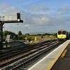 229 brings the 1700 Heuston - Cork into the new Limerick Jct. Platform. Fri 06.09.19