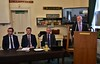 On Thursday 5th September the IRO held a presentation by Jim Meade CEO Iarnrod Eireann and Richard Knox, Translink General Manager Rail Service Operations at the IRRS in Heuston. Q and A session after the presentations. Thurs 05.09.19