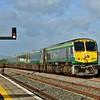 232 arrives into Limerick Jct. with the 1600 Heuston - Cork. Fri 06.09.19