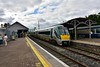 22042 stands unusually in platform 2 at Mallow with the 1137 Mallow - Tralee. Normally this service would depart from platform 3 but this was being used by the RPSI Spl. Sat 07.09.19