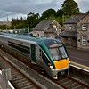 22039 stands at Rathmore with the 1705 Heuston - Tralee. Fri 06.09.19