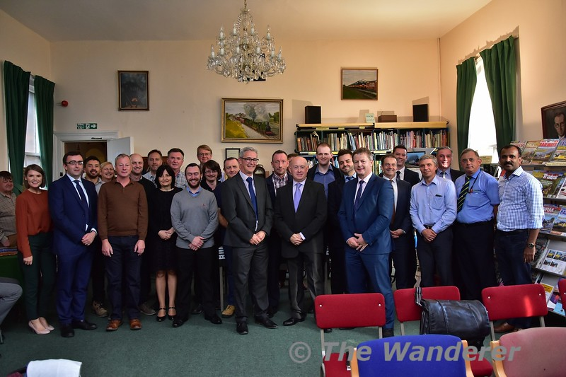 On Thursday 5th September the IRO held a presentation by Jim Meade CEO Iarnrod Eireann and Richard Knox, Translink General Manager Rail Service Operations at the IRRS in Heuston. Thurs 05.09.19