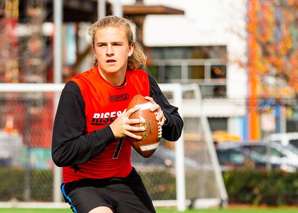 Sam Faulkner, Quarterback, 2022