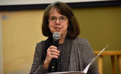 Sr. Cathy Bertrand, SSND, was conference facilitator