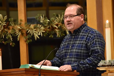 Br. Duane does a reading