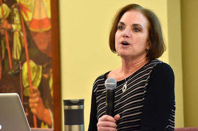 Kelly Kornacki, director of the SHSST ESL program, shares stories about cultural exchange