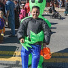 Is that an alien carrying off Westfield's Angel Gomez or just a clever costume?