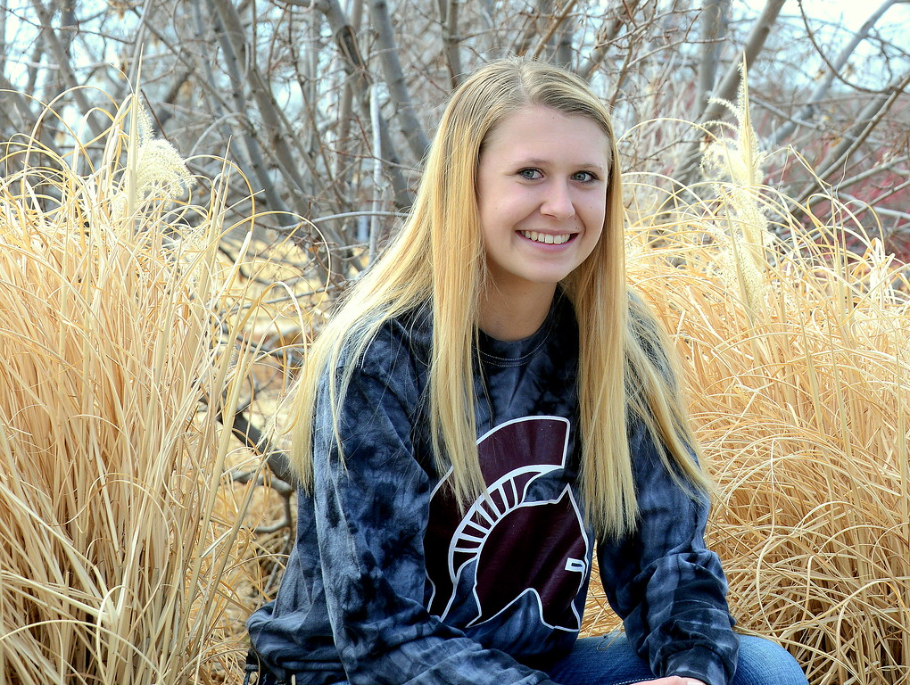 . Berthoud sophomore Breanna Fowler took her game to an advanced level, leading to her selection as the 2019 All-Area Girls Basketball player of the year. (Mike Brohard/Loveland Reporter-Herald)