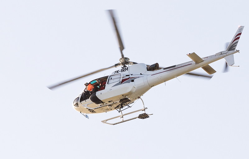 Merit, Barbara Lee - Helicopter crew search for missing man