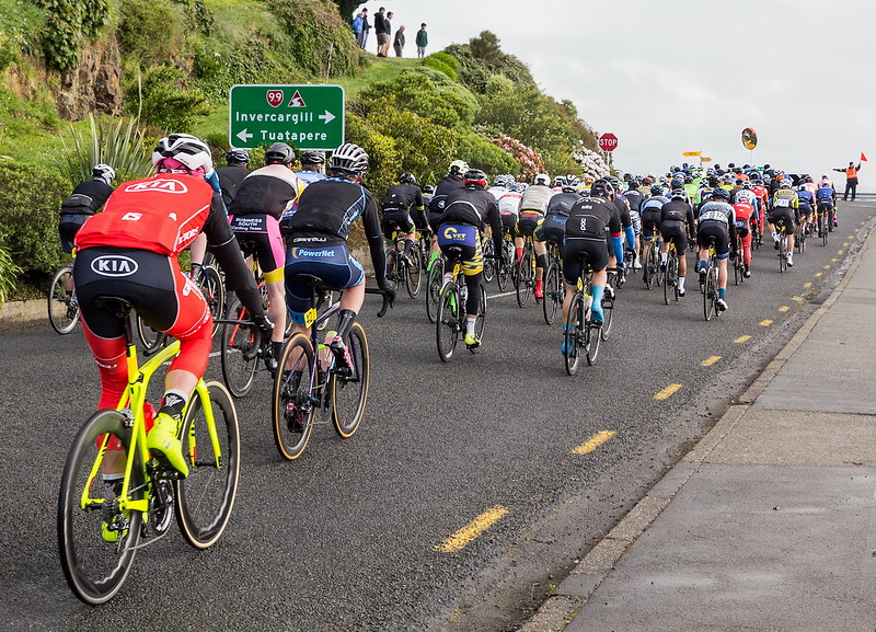 Honours, Barbara Lee - Tour of Southland riders leave Riverton