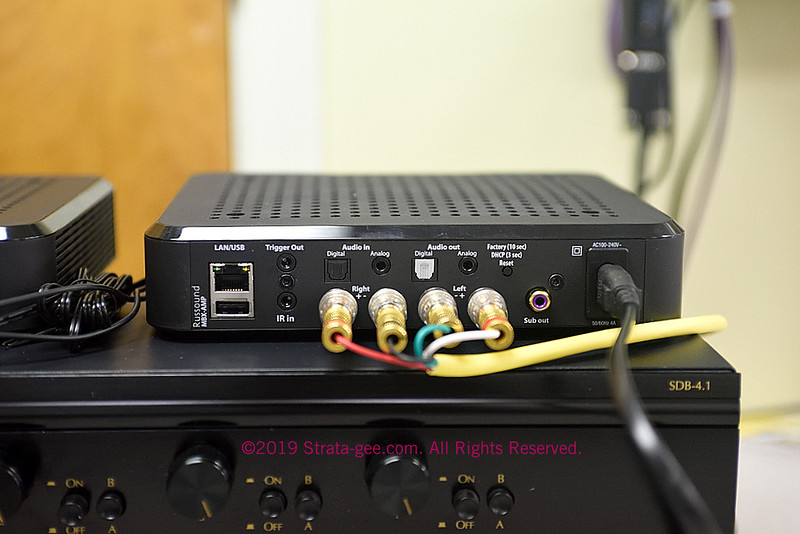 Photo of the Russound MBX-AMP