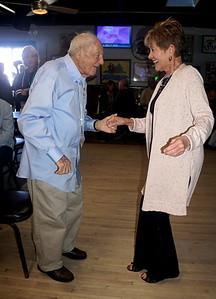 Leonard Gardener dancing @ 97!