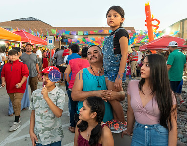 Thousands of people gathered on the grounds of San Juan Diego Catholic Church in Dallas on Sept. 1 for the parish's annual festival. (David Woo Photo)